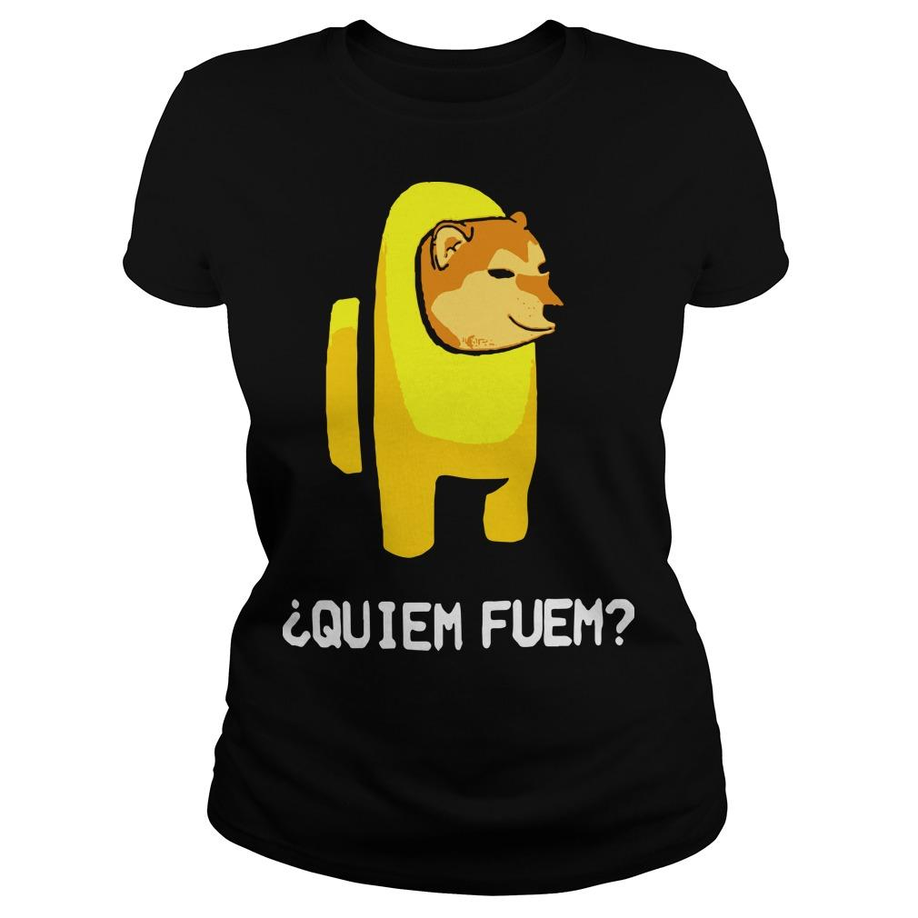 Among Us Quiem Fuem Longsleeve