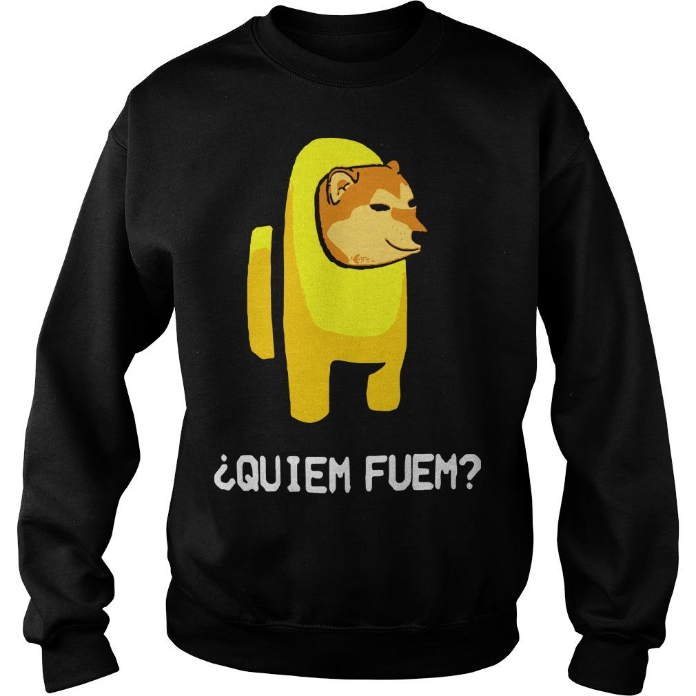 Among Us Quiem Fuem Sweater