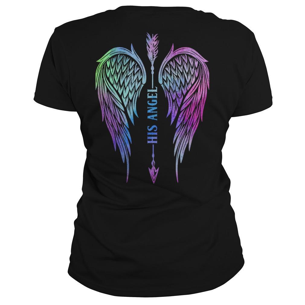 Angel Wing Arrow His Angel Longsleeve