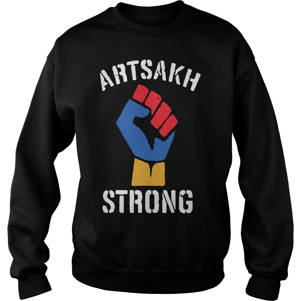 Artsakh Is Armenia Artsakh Strong Sweater
