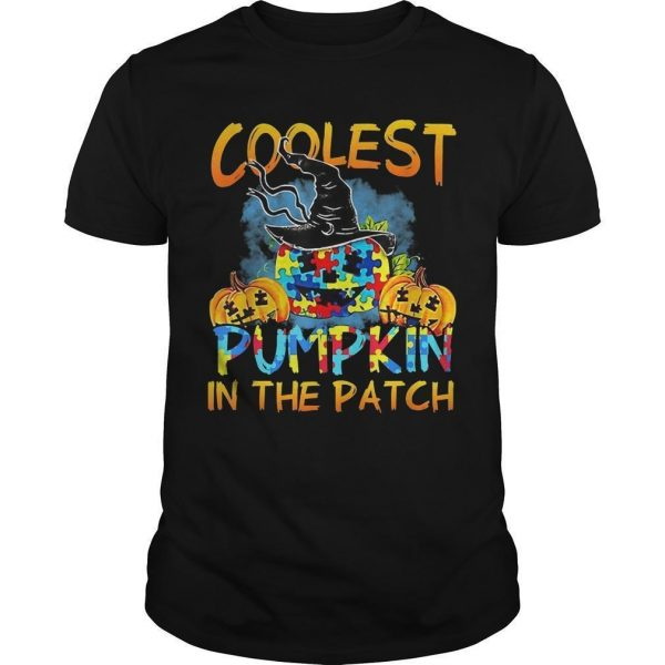 Autism Coolest Pumpkin In The Patch Shirt