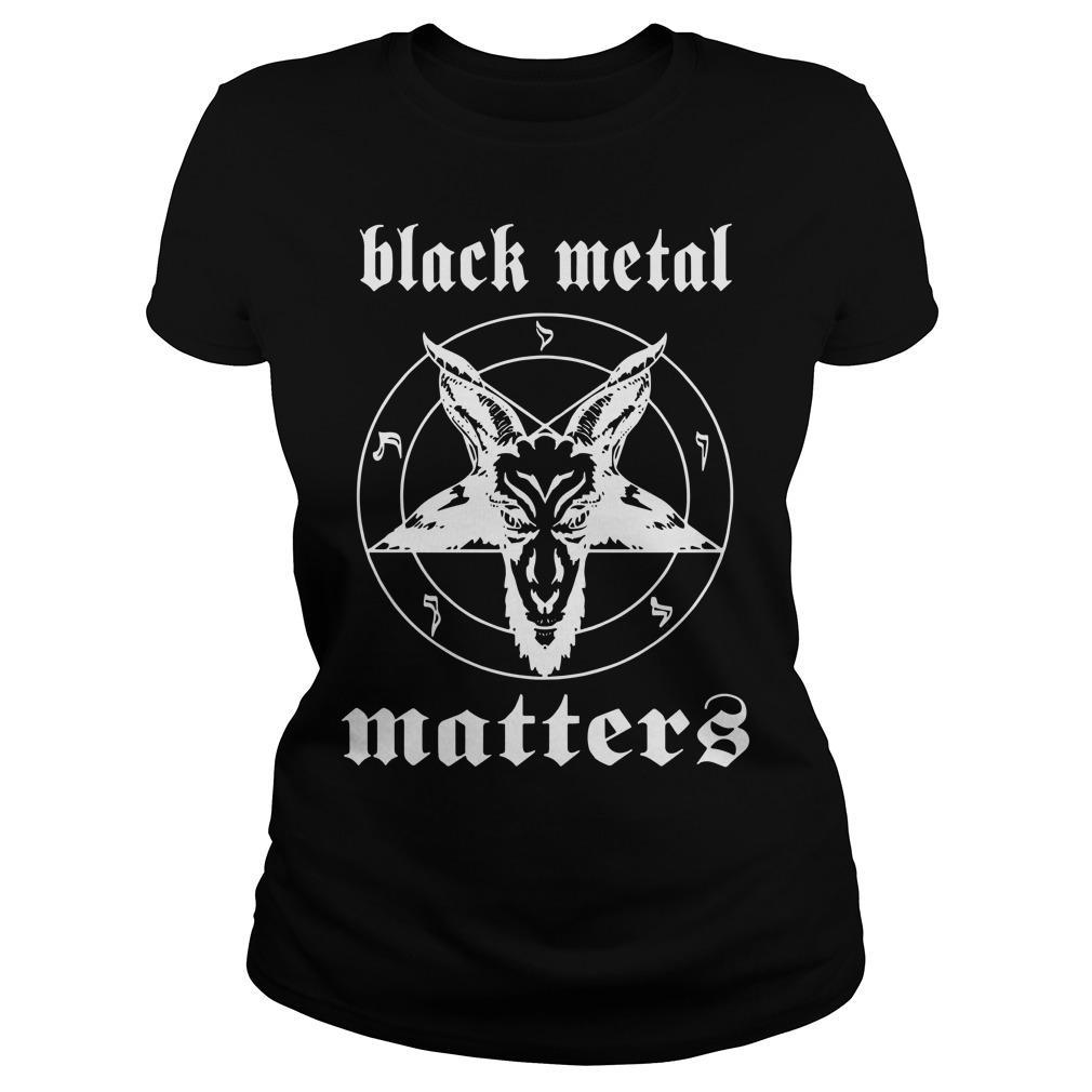 Black Metal Matter Longsleeve