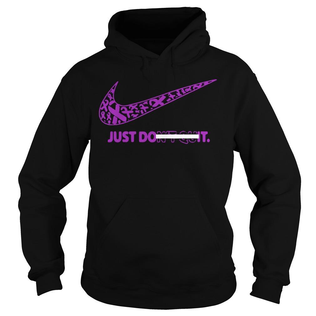 Breast Awareness Just Do It Don't Quit Hoodie