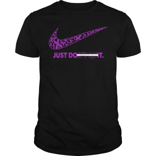 Breast Awareness Just Do It Don't Quit Shirt