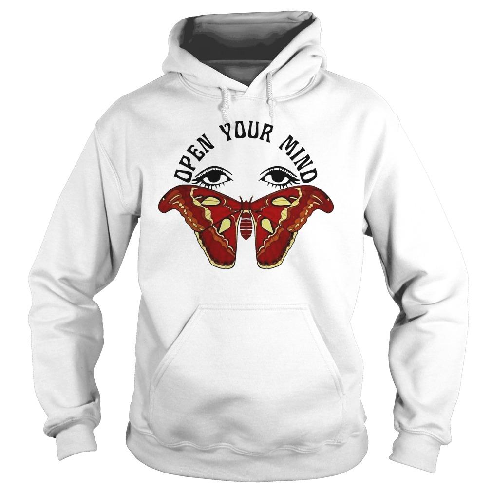 Butterfly Eyes Open Your Mind Hoodie