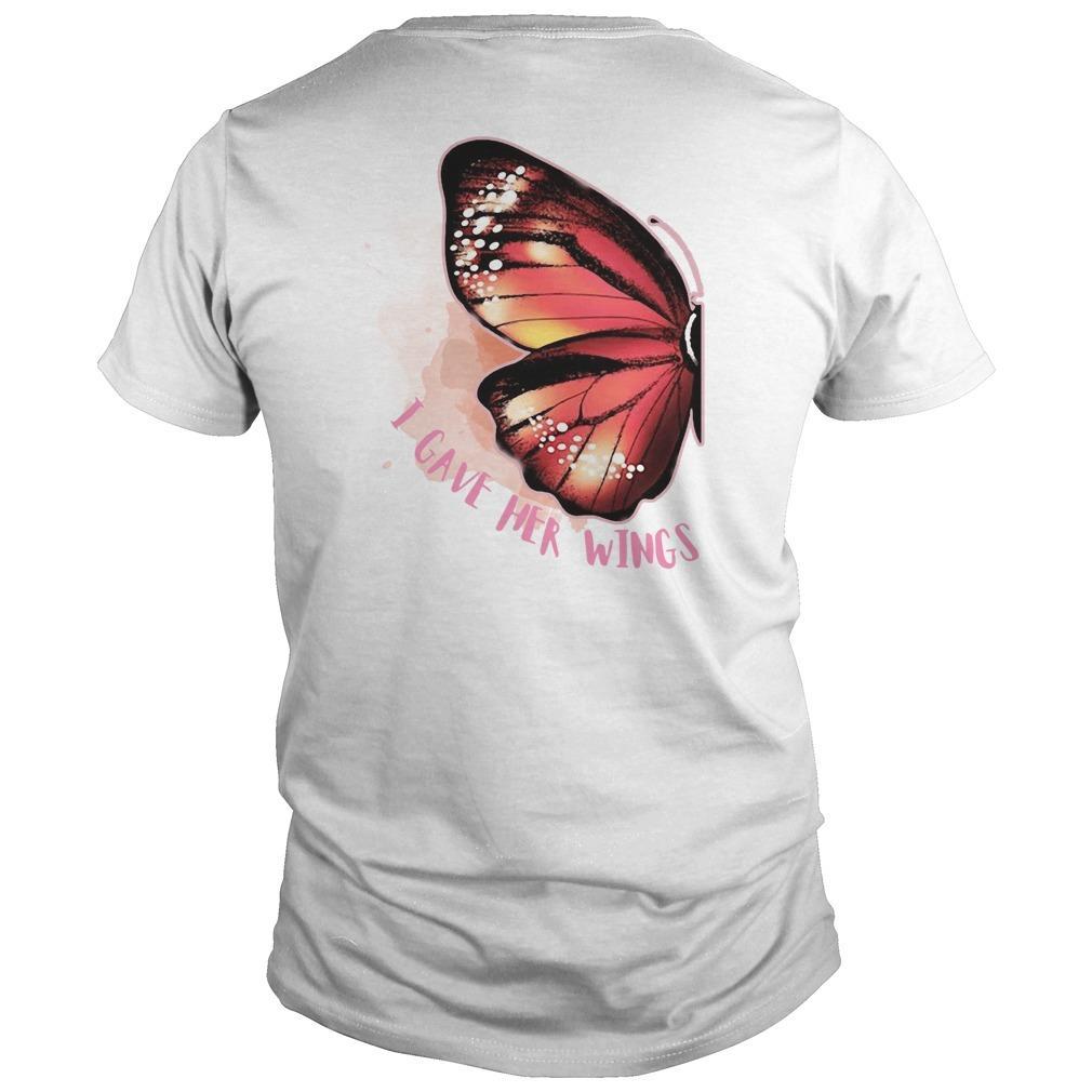 Butterfly Wing I Gave Her Wings Longsleeve