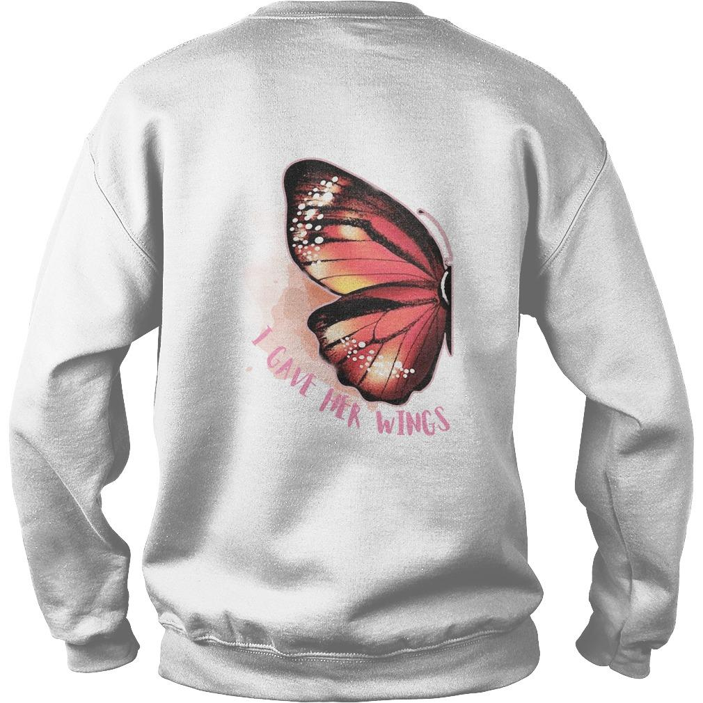 Butterfly Wing I Gave Her Wings Sweater
