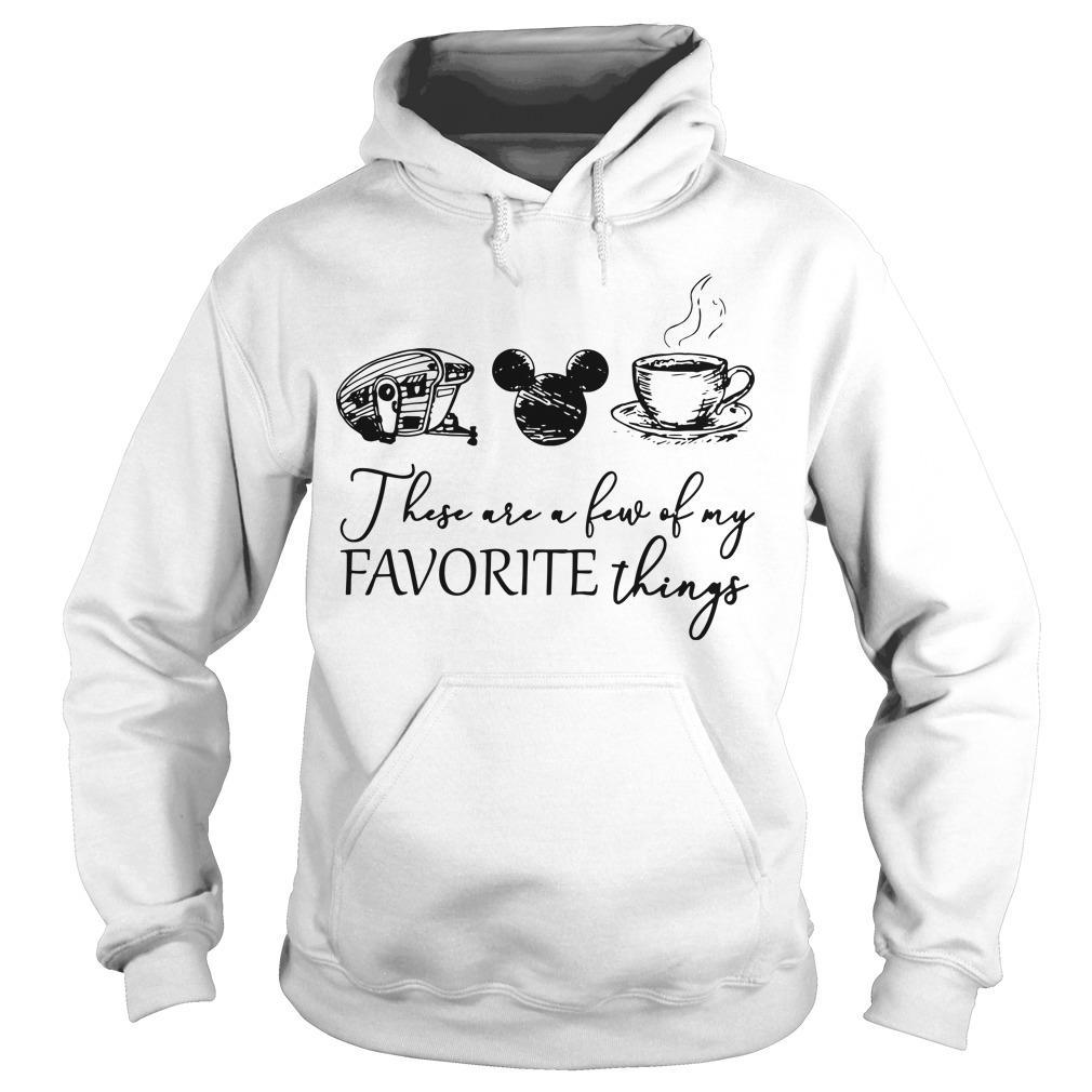 Camping Mickey Mouse Coffee These Are A Few Of My Favorite Things Hoodie