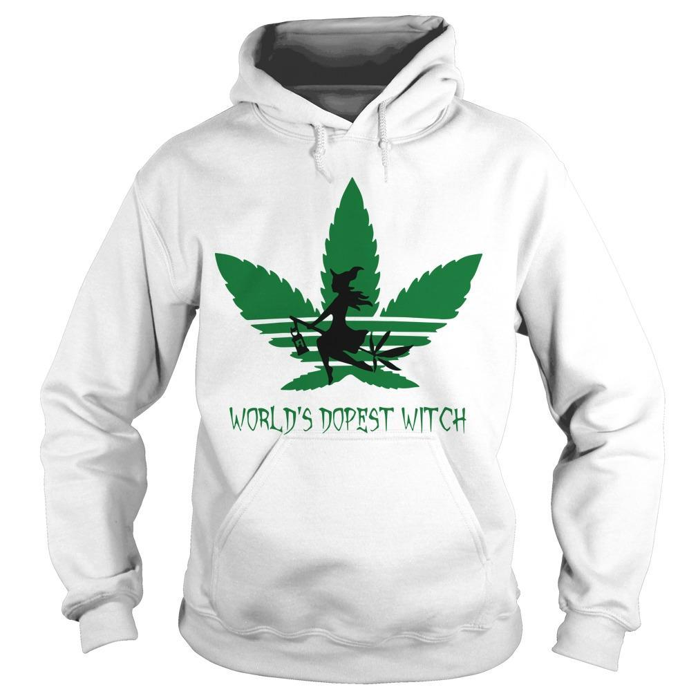 Cannabis World's Dopest Witch Hoodie
