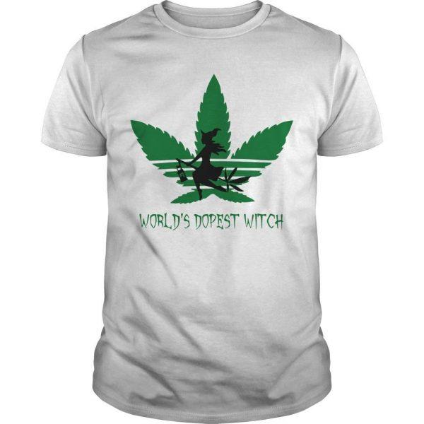 Cannabis World's Dopest Witch Shirt