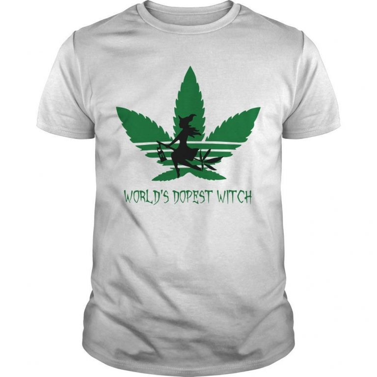 Cannabis World's Dopest Witch Shirt
