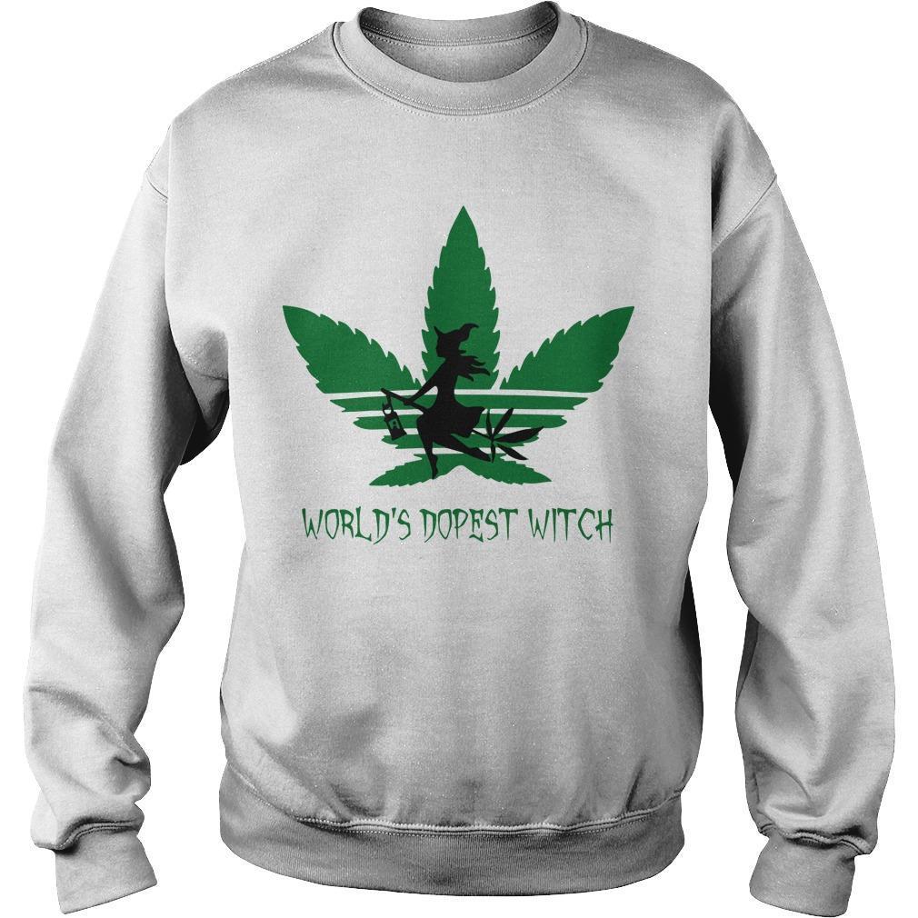 Cannabis World's Dopest Witch Sweater