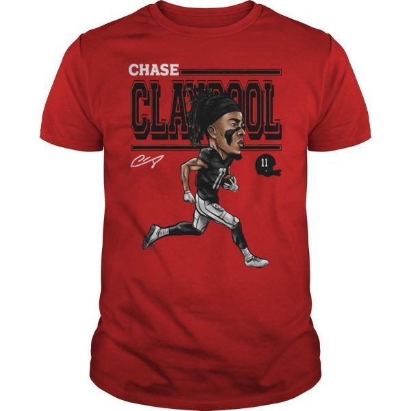 Cartoon Chase Claypool Shirt