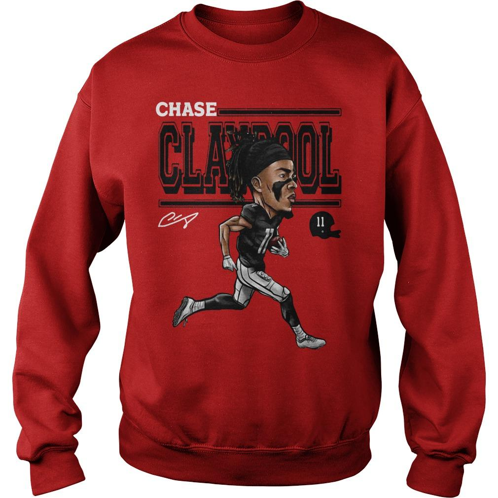 Cartoon Chase Claypool Sweater