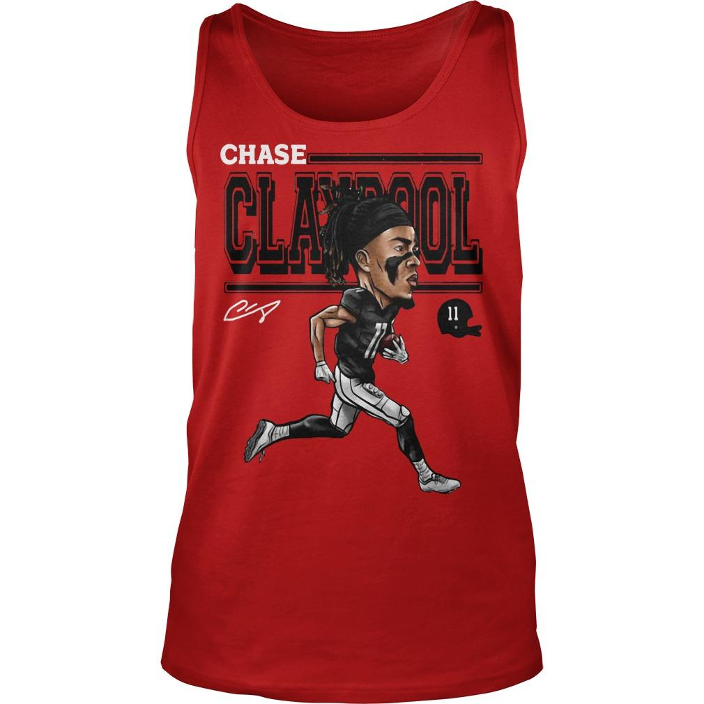 Cartoon Chase Claypool Tank Top