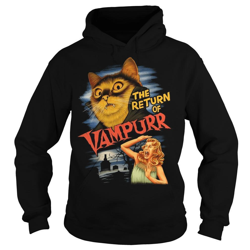 Cat The Return Of Vampurr Hoodie