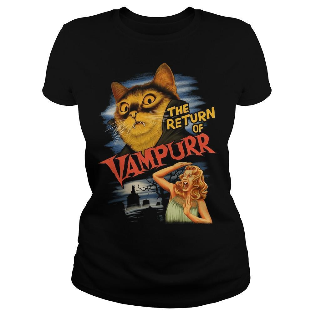 Cat The Return Of Vampurr Longsleeve