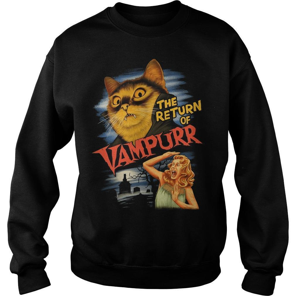Cat The Return Of Vampurr Sweater