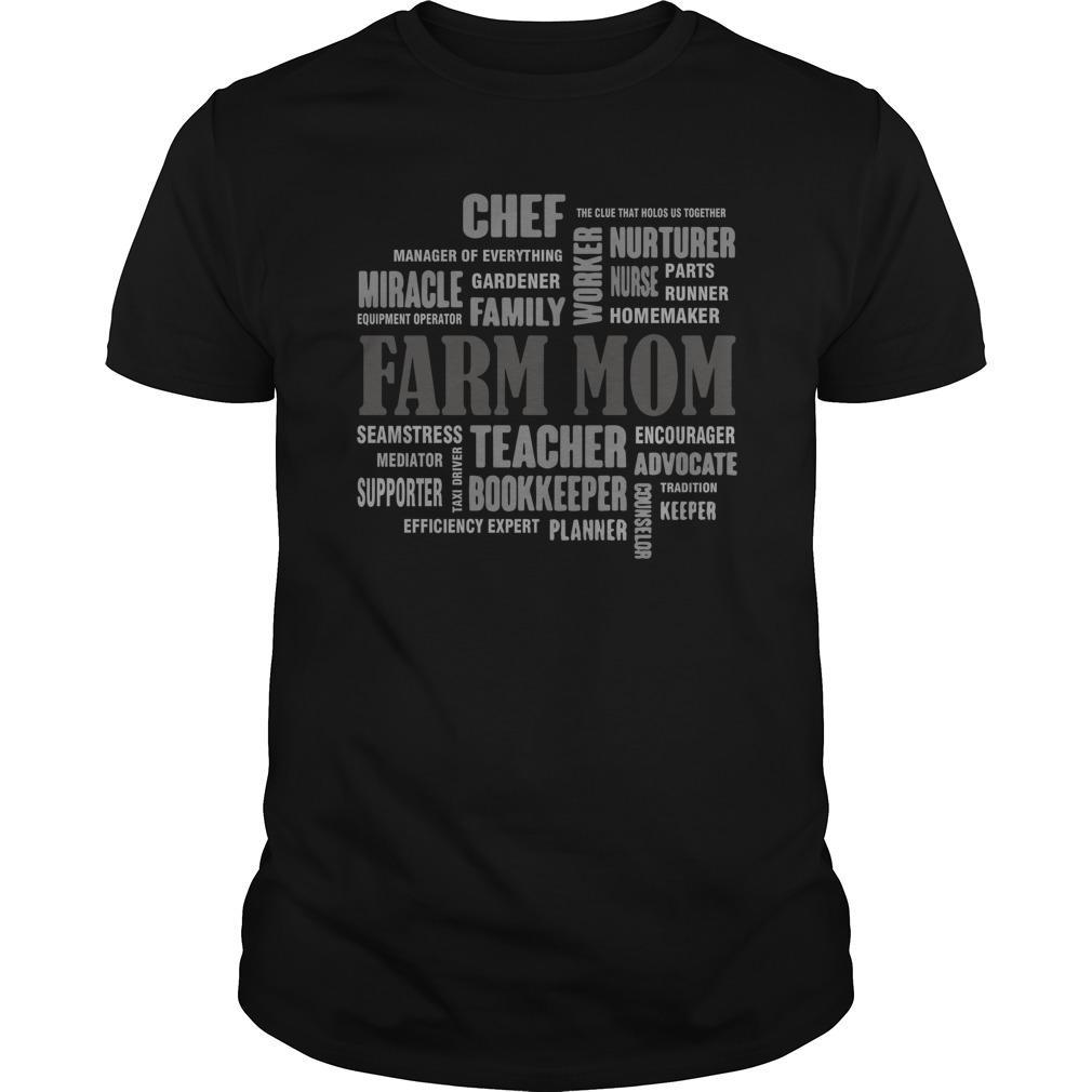 Chef Miracle Family Worker Nurturer Nurse Farm Mom Longsleeve