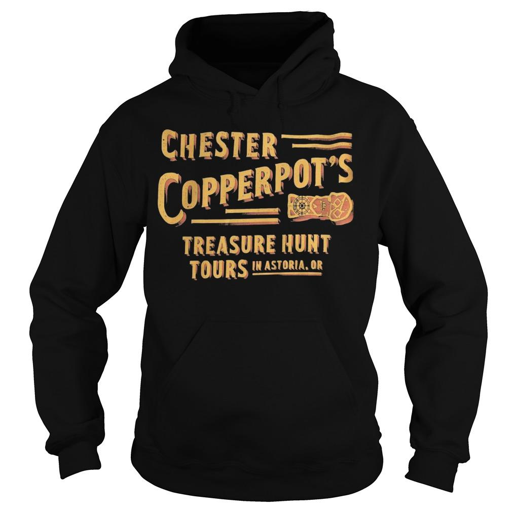 Chester Copperpot's Treasure Hunt Tours In Astoria Hoodie