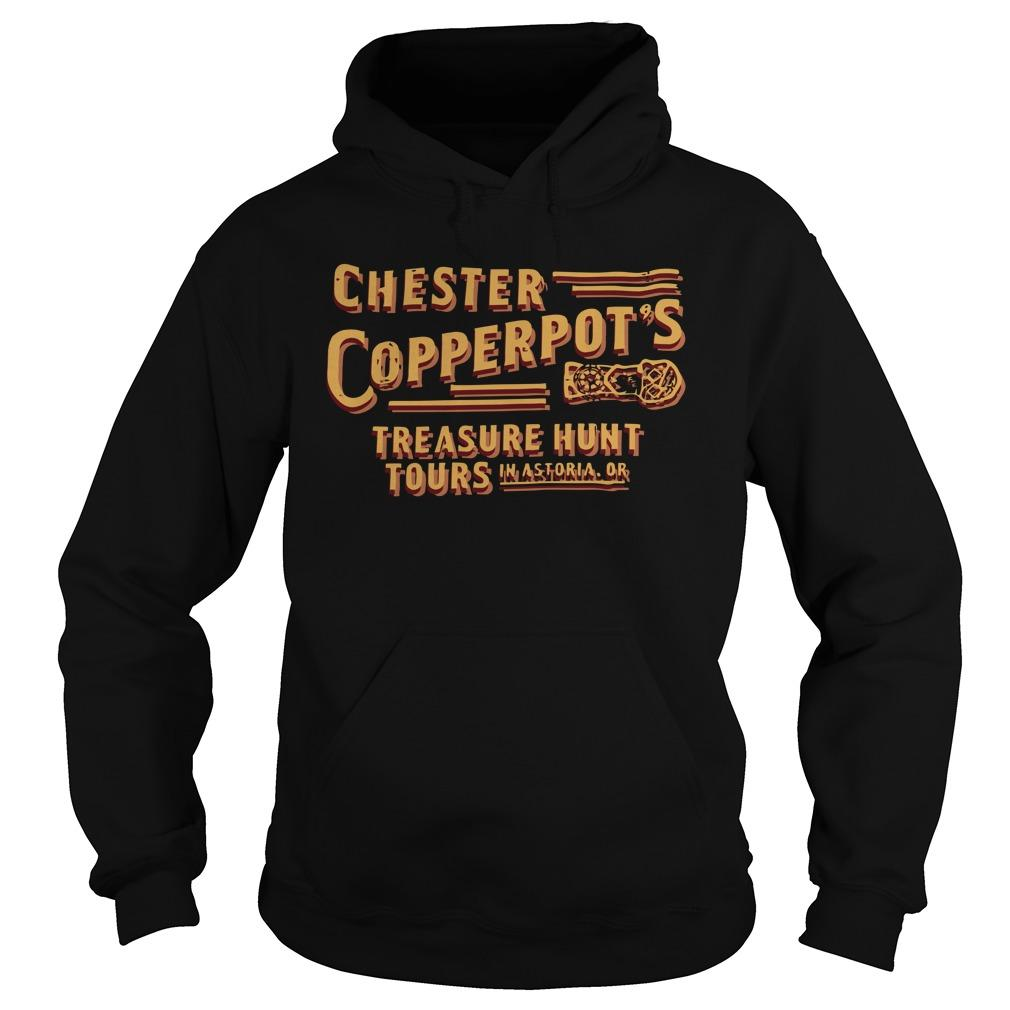 Chester Copperpot's Treasure Hunt Tours In Astoria Or Hoodie