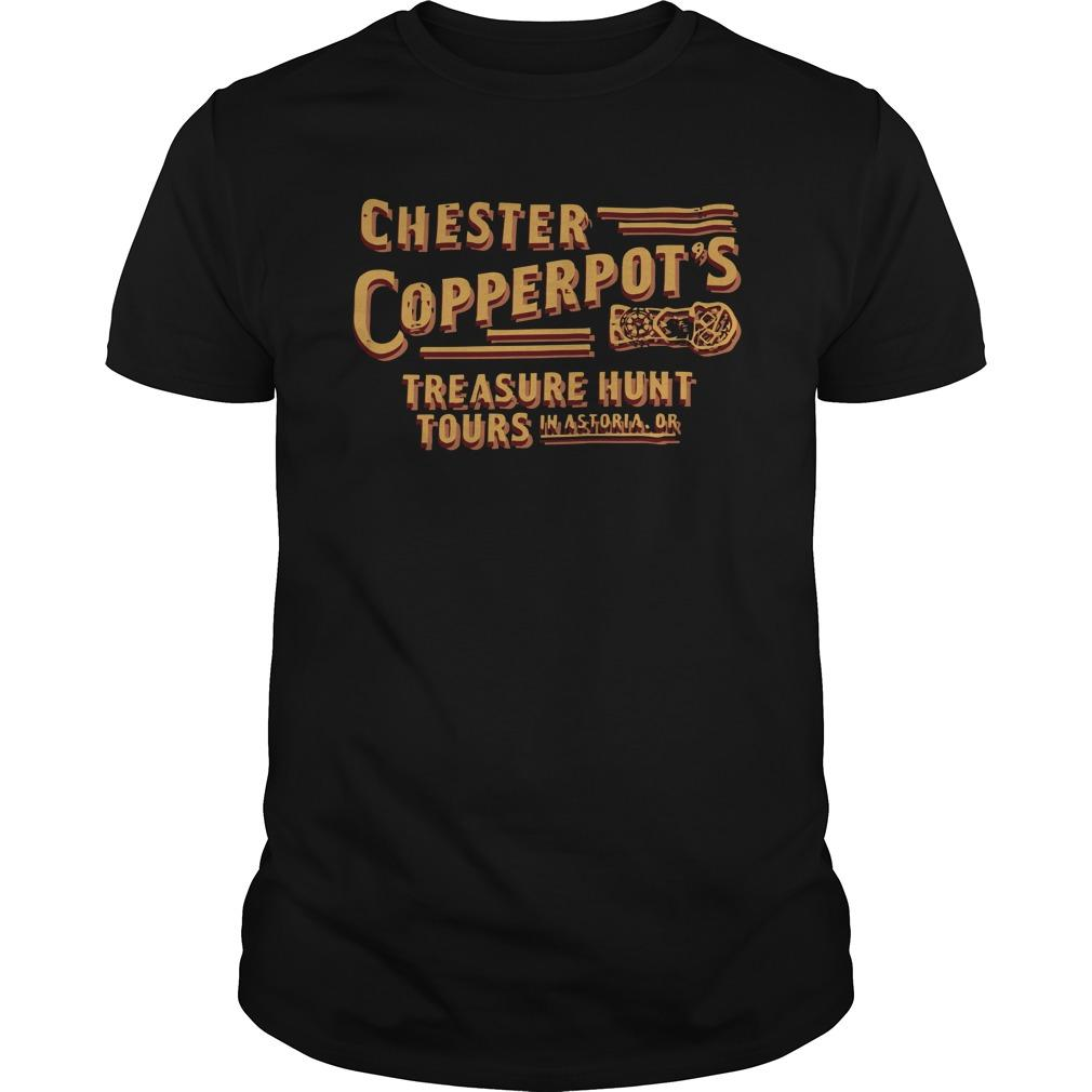 Chester Copperpot's Treasure Hunt Tours In Astoria Or Longsleeve