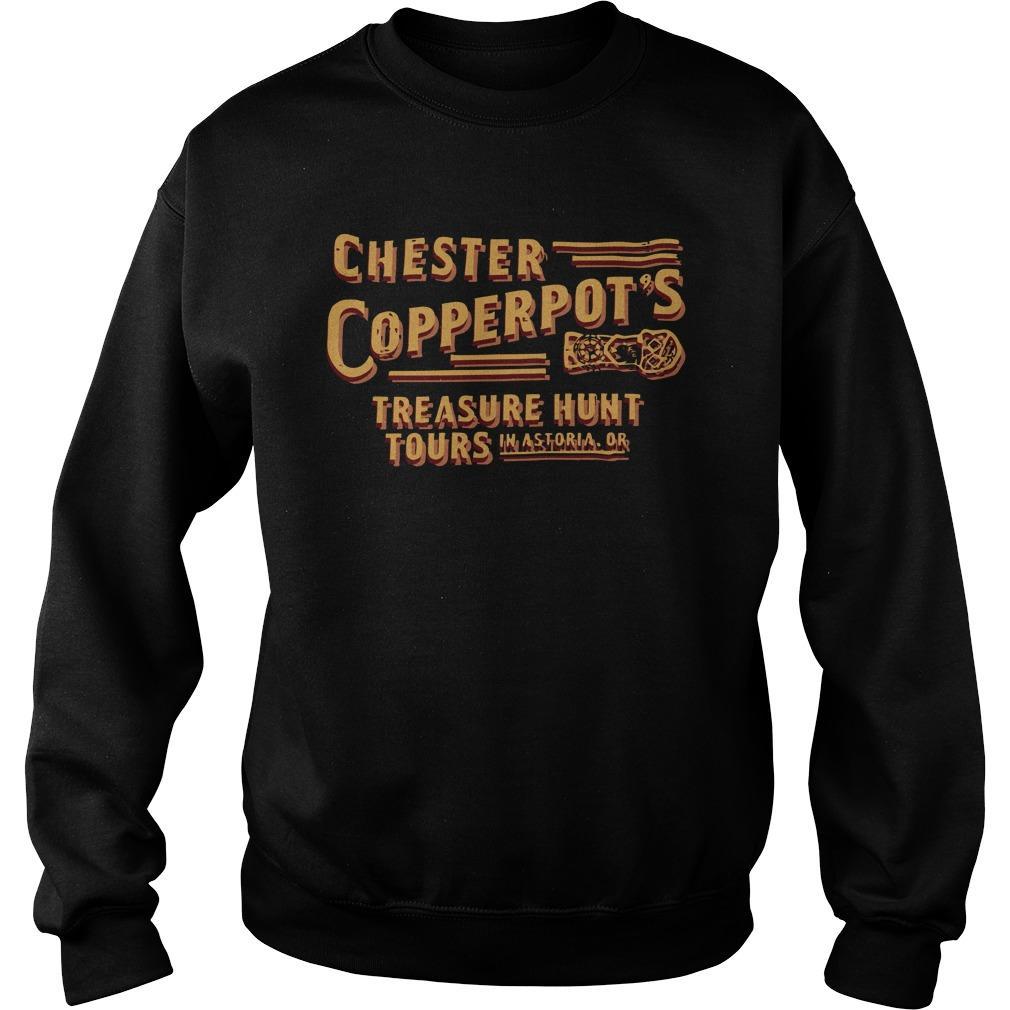 Chester Copperpot's Treasure Hunt Tours In Astoria Or Sweater