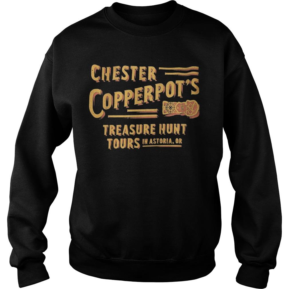 Chester Copperpot's Treasure Hunt Tours In Astoria Sweater