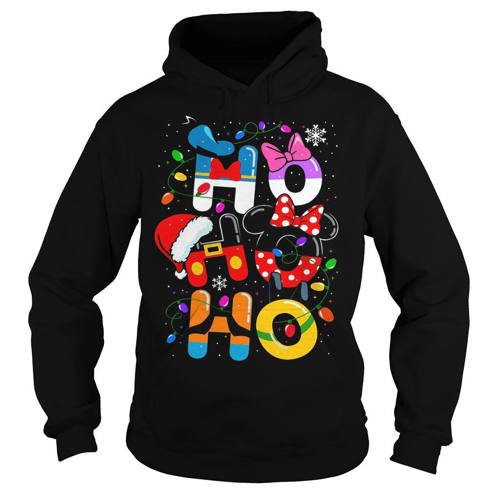 Christmas Mickey Mouse Ho Ho Ho Hoodie