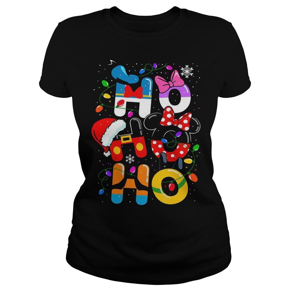 Christmas Mickey Mouse Ho Ho Ho Longsleeve