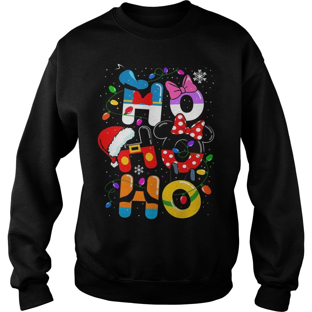 Christmas Mickey Mouse Ho Ho Ho Sweater