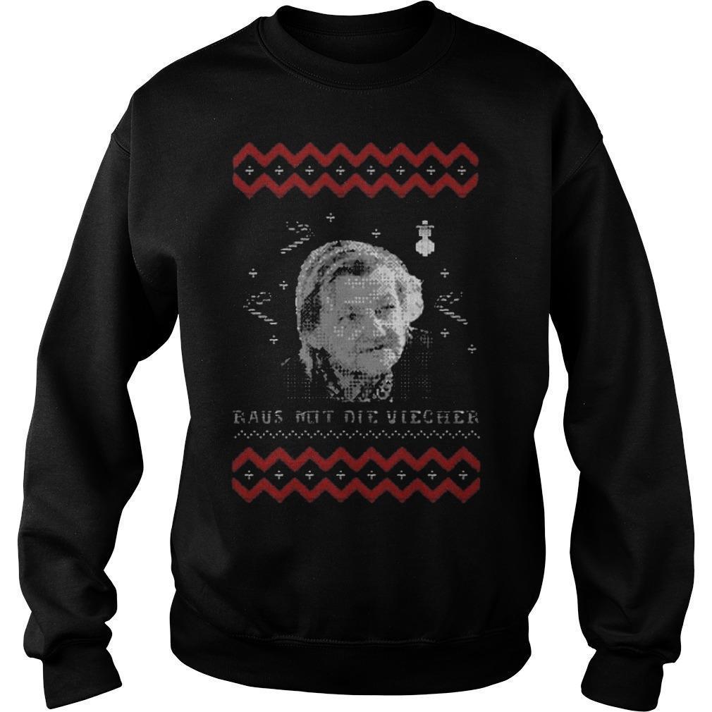 Christmas Raus Not Die Viecher Sweater