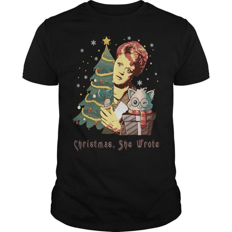 Christmas She Wrote Shirt