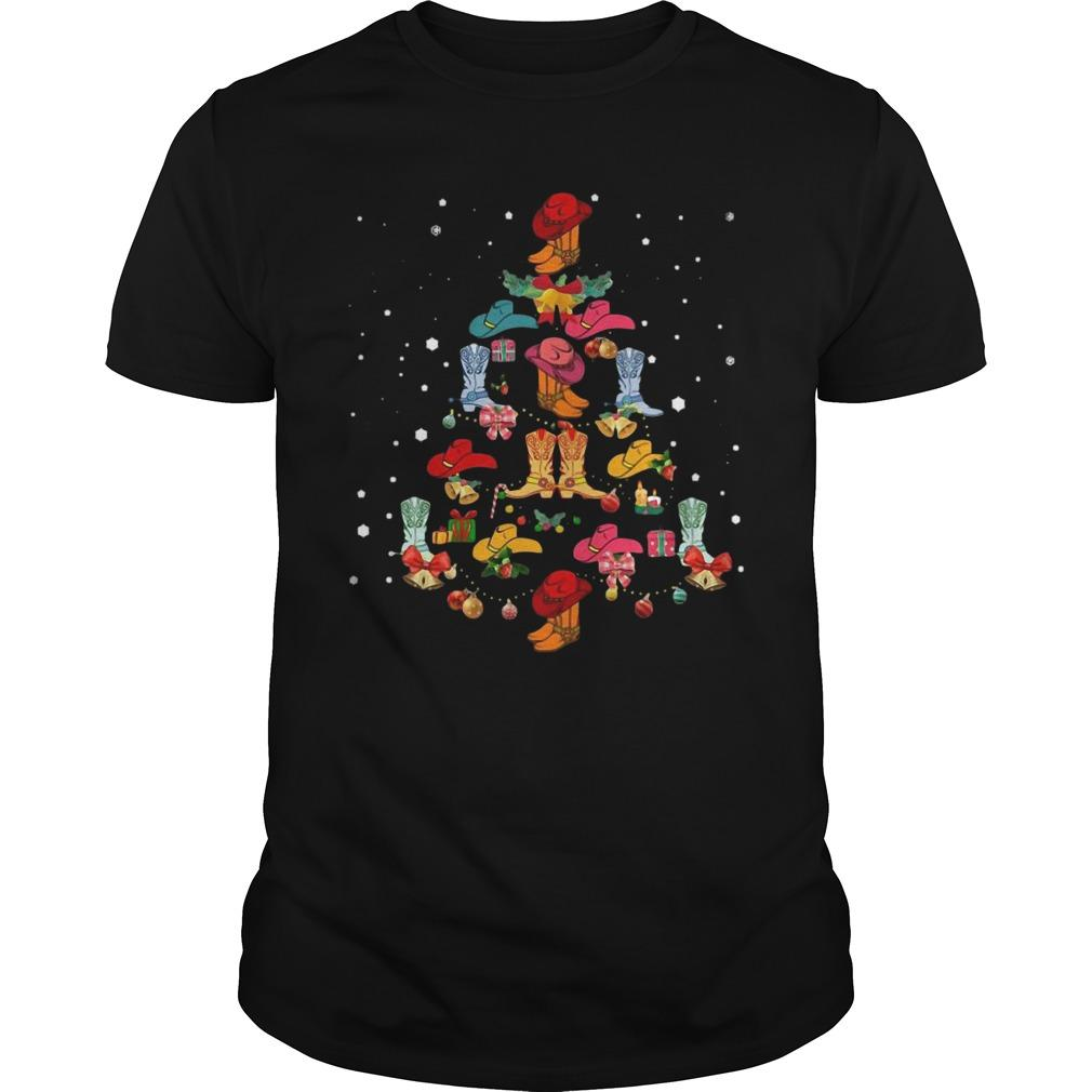 Christmas Tree Shoes Line Dance Longsleeve