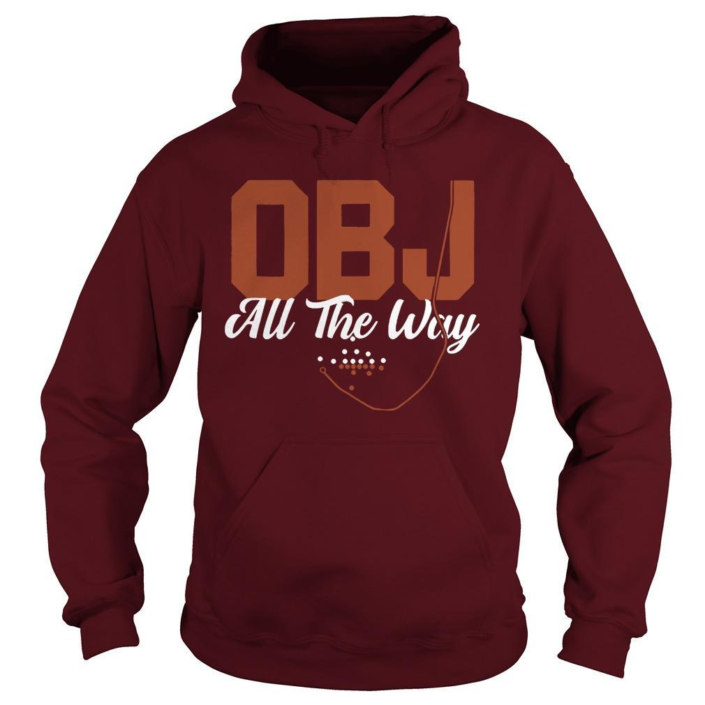 Cleveland Obj All The Way Hoodie