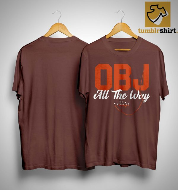 Cleveland Obj All The Way Shirt