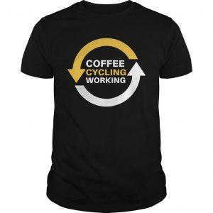 Coffee Cycling Working Shirt
