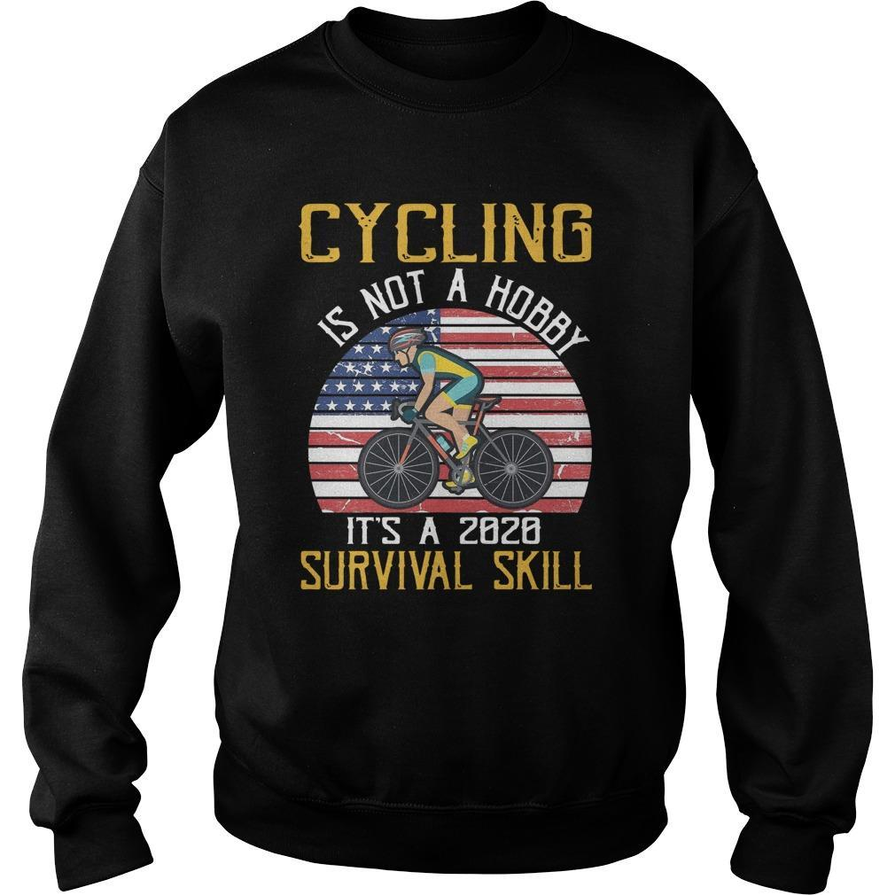 Cycling Is Not A Hobby It's A 2020 Survival Skill Sweater