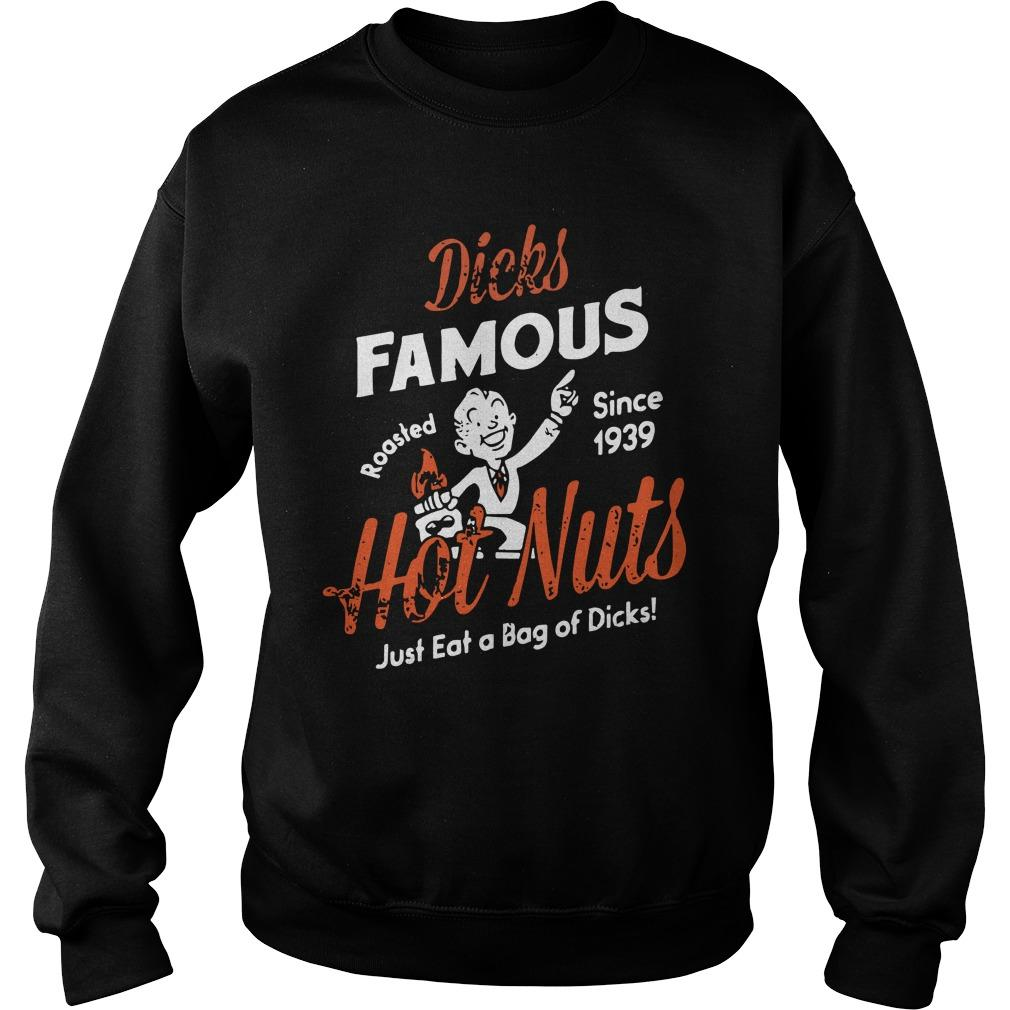 Dick's Famous Roasted Since 1939 Hot Nuts Sweater