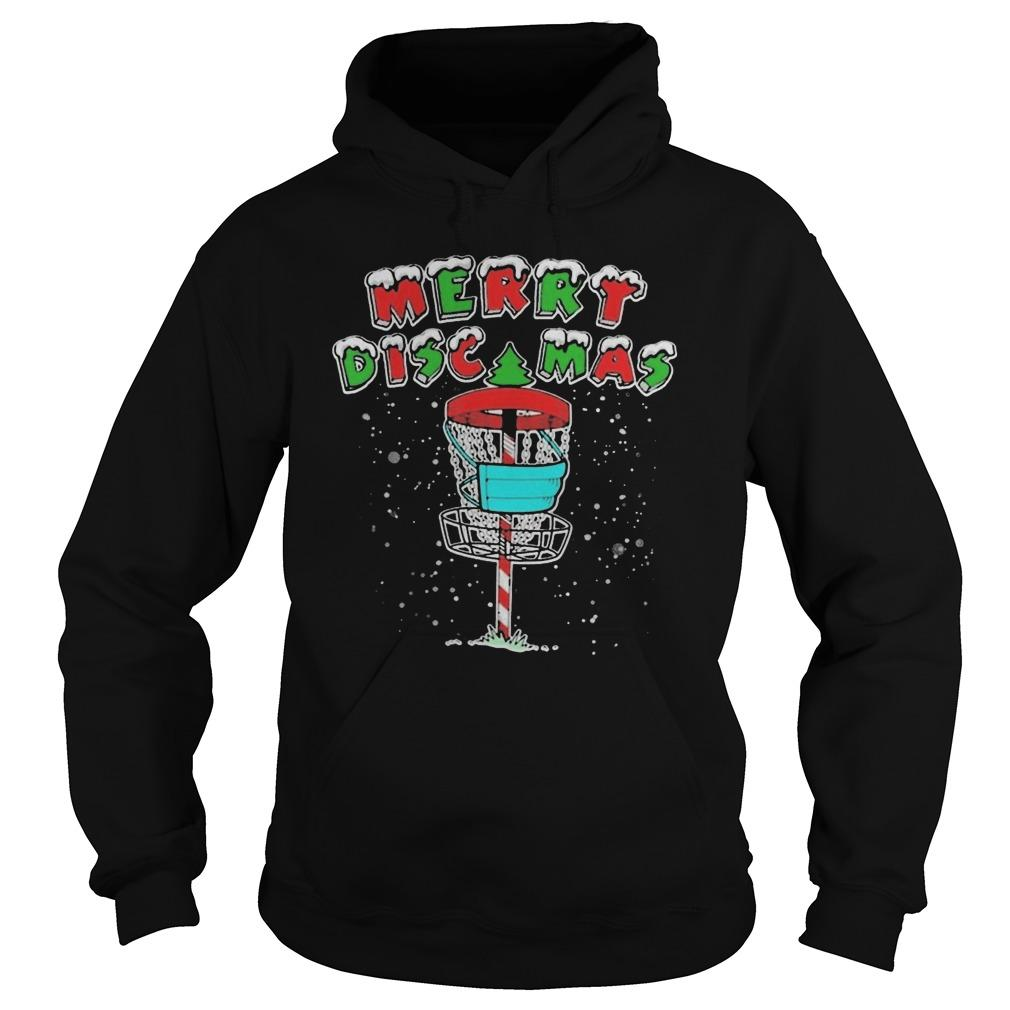 Disc Golf Lover Merry Discmas Hoodie