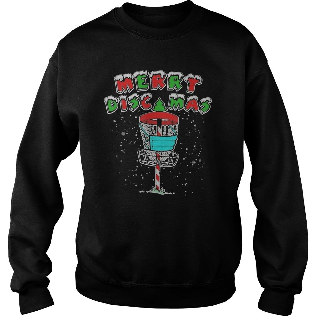 Disc Golf Lover Merry Discmas Sweater