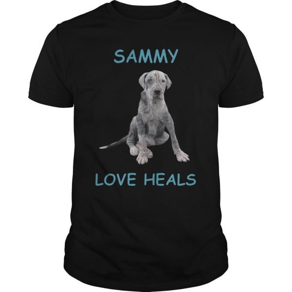 Dog Sammy Love Heals Shirt