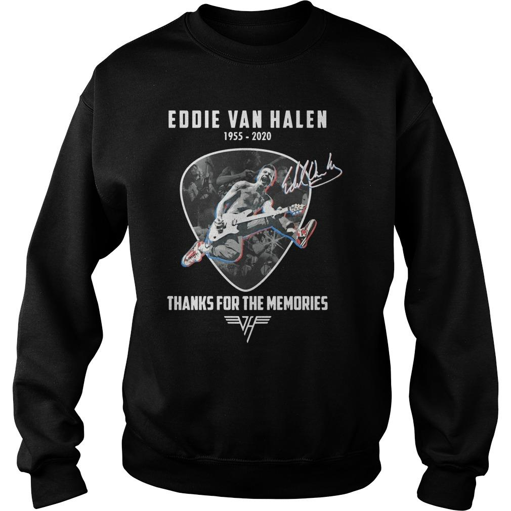 Eddie Van Halen 1955 2020 Thanks For The Memories Sweater