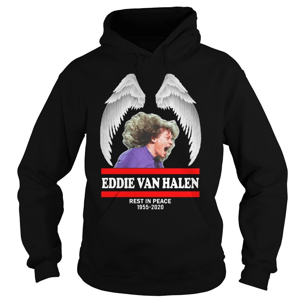 Eddie Van Halen Rest In Peace 1955 2020 Hoodie