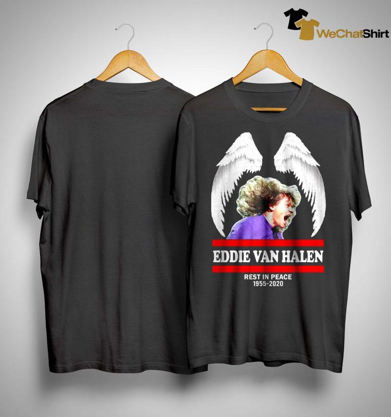 Eddie Van Halen Rest In Peace 1955 2020 Shirt