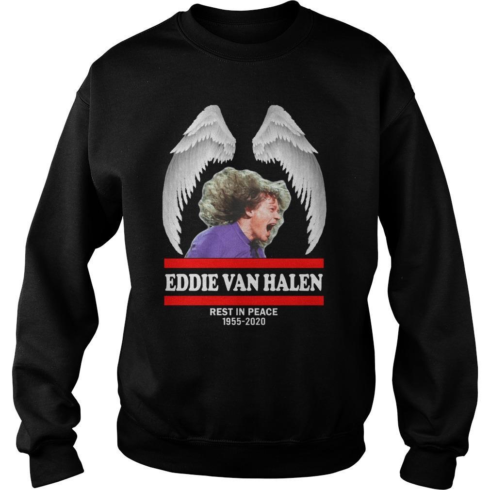 Eddie Van Halen Rest In Peace 1955 2020 Sweater