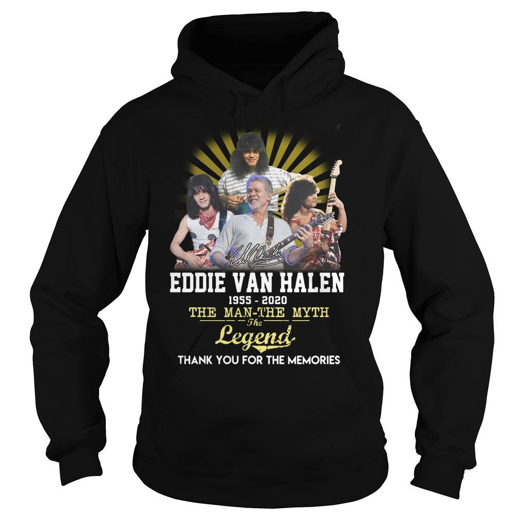 Eddie Van Halen The Man The Myth The Legend Hoodie