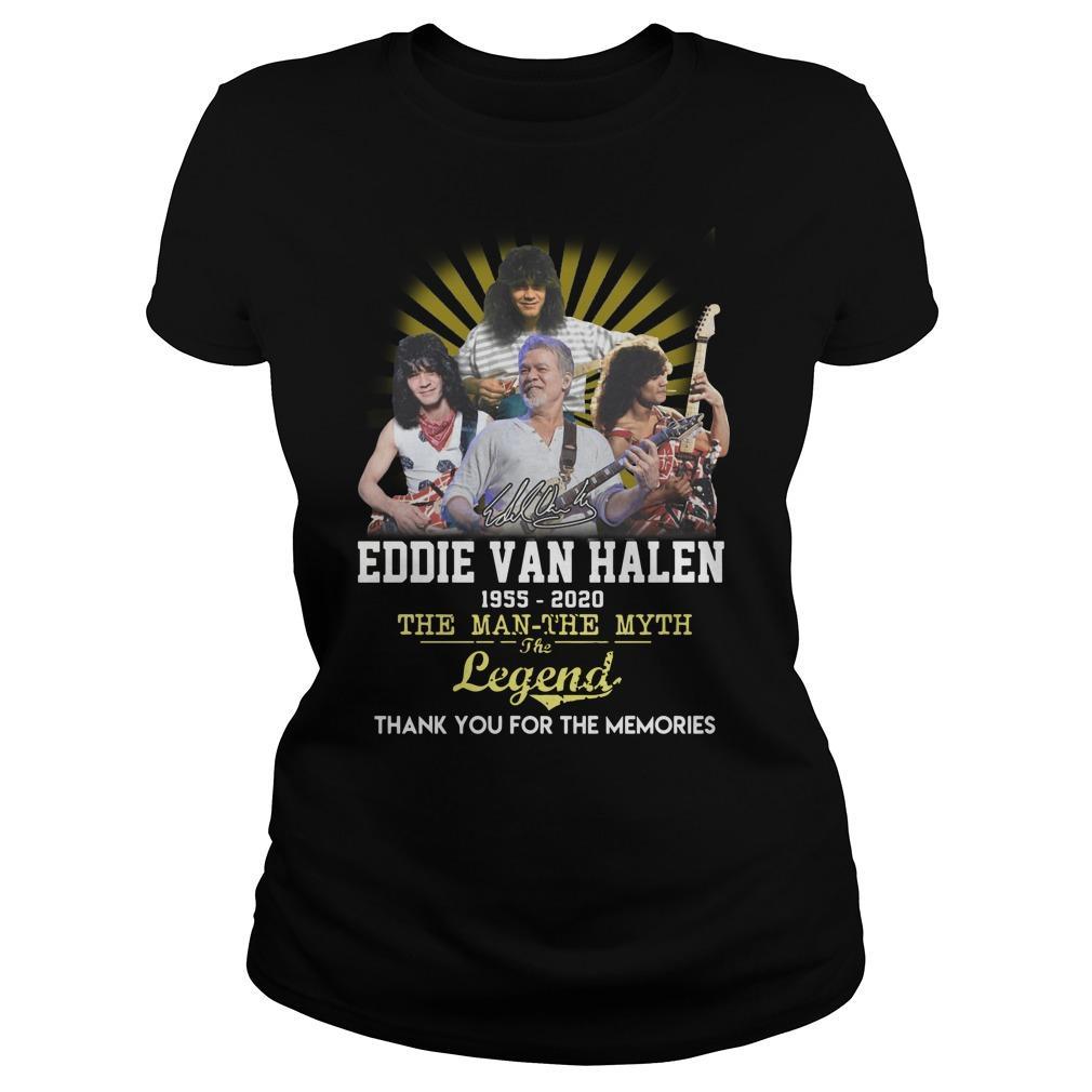 Eddie Van Halen The Man The Myth The Legend Longsleeve