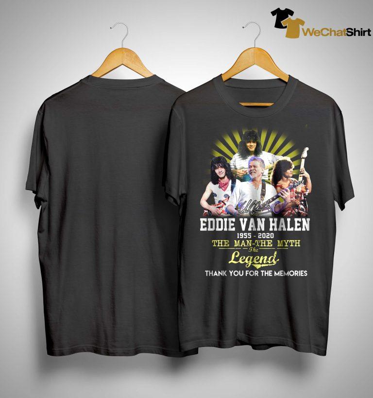 Eddie Van Halen The Man The Myth The Legend Shirt