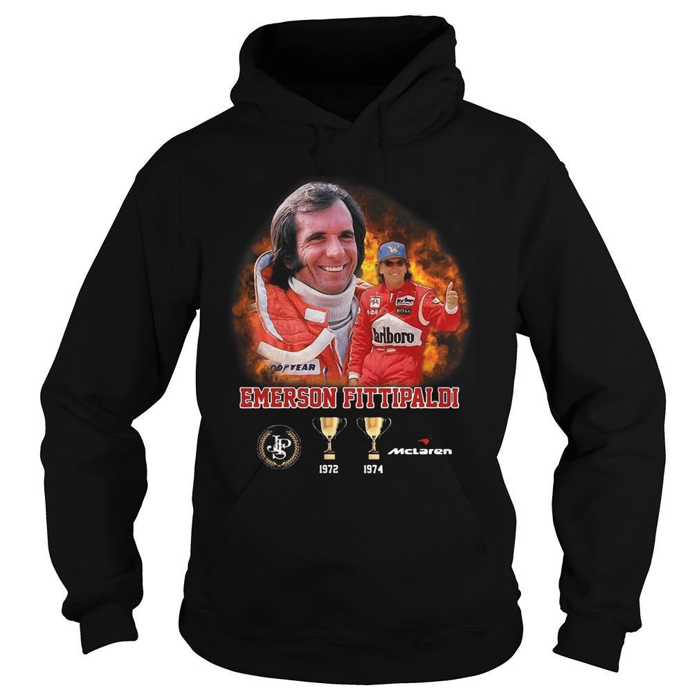 Emerson Fittipaldi 1972 1974 Mclaren Hoodie